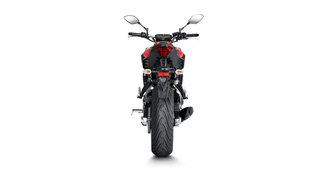 Yamaha MT-07/FZ-07 2018 Racing Line (Carbon) - Akrapovič Motorcycle