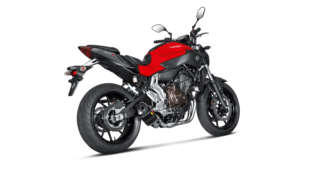 Yamaha MT-07/FZ-07 2018 Racing Line (Carbon) - Akrapovič