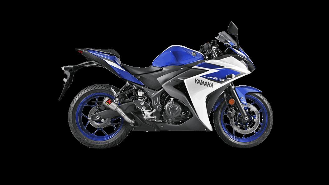 Yamaha YZF-R3 2018 Slip-On Line (SS) - Akrapovič Motorcycle