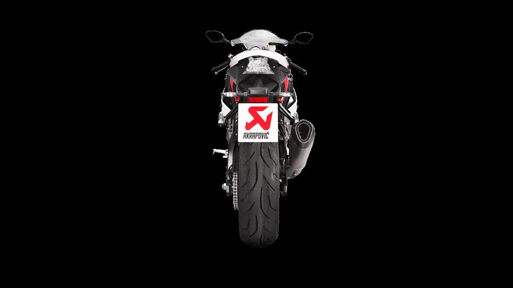 Bmw S 1000 Rr 2018 Evolution Line Titanium Akrapovic Motorcycle