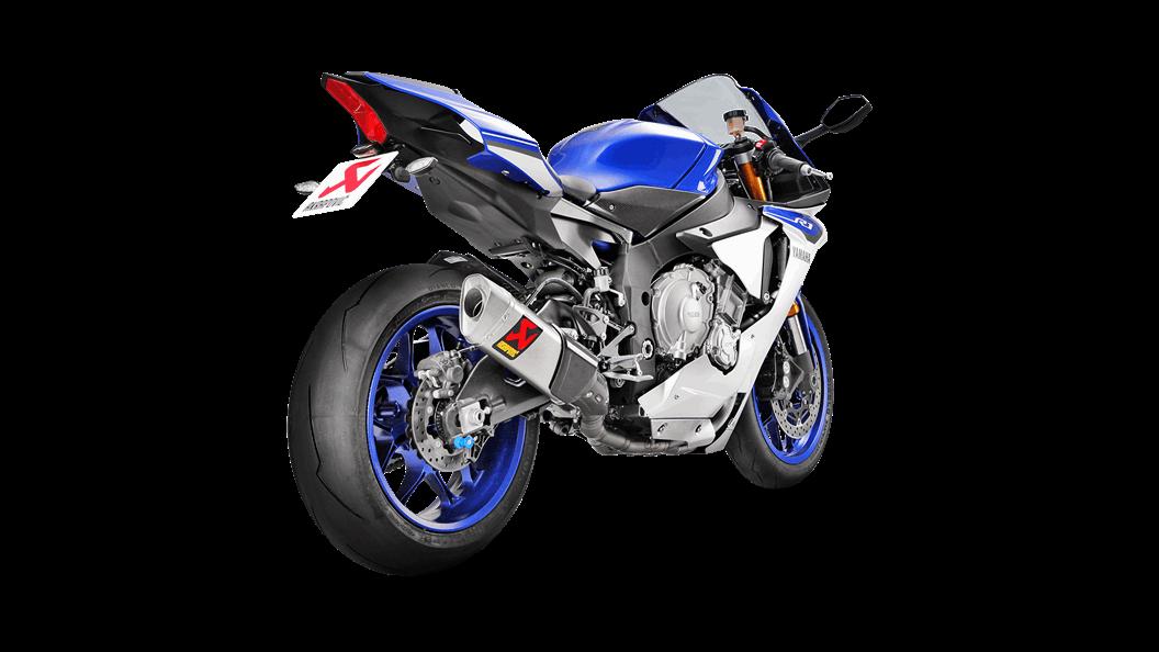 Yamaha Yzf R1 2019 Evolution Line Kit Titanium Akrapovic