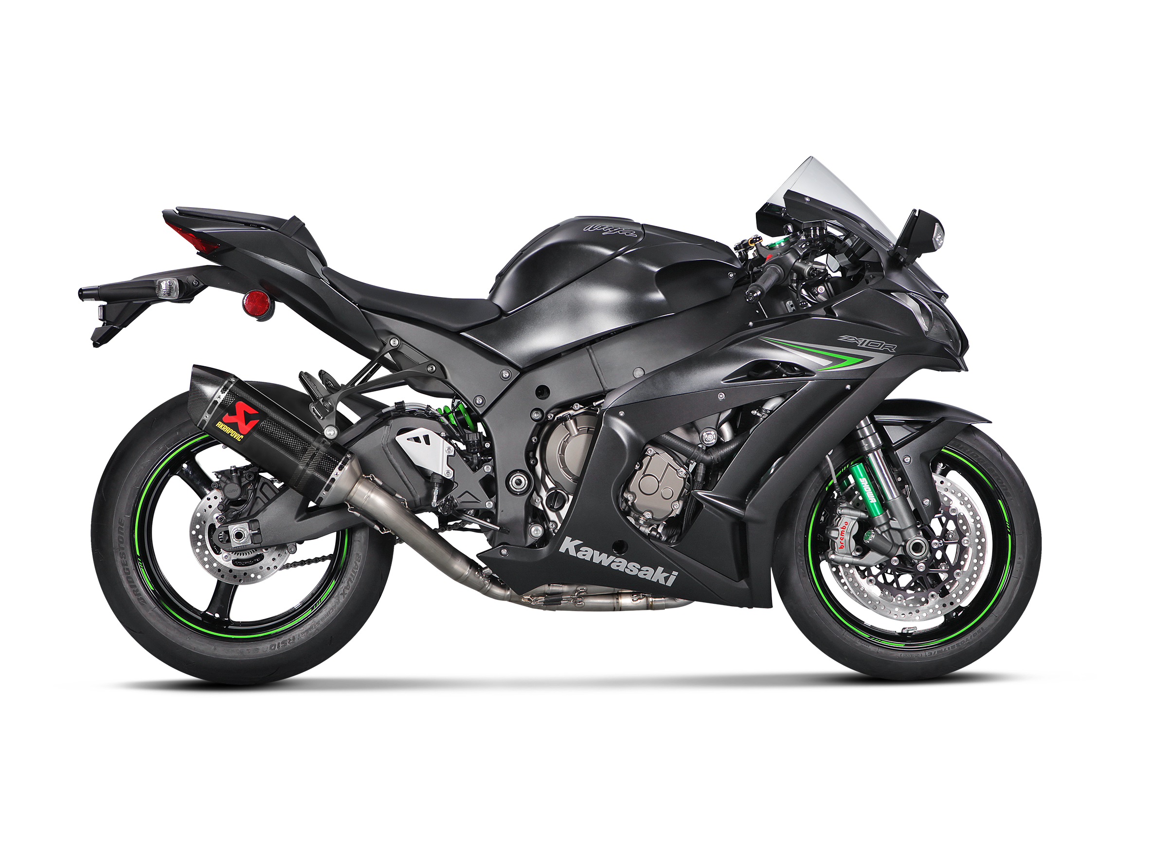 Kawasaki Ninja Zx 10r 2020 Evolution Line Carbon Akrapovic Motorcycle Exhaust