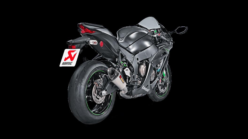 Kawasaki Ninja ZX-10R 2018 Optional Link Pipe (Titanium) - Akrapovič