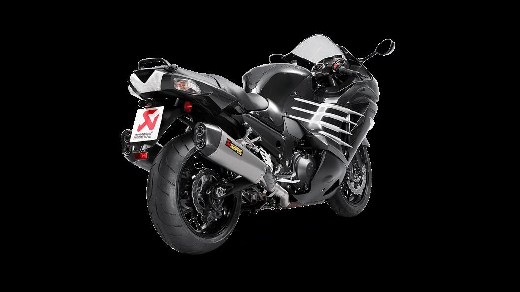 Kawasaki ZZR 1400, ZX14R 2019 Slip-On Line (anium ... on