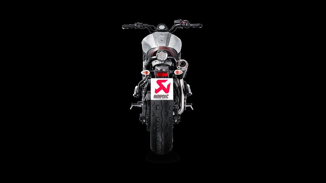 Yamaha XSR 700 / XTribute 2019 Racing Line (Titanium) - Akrapovič