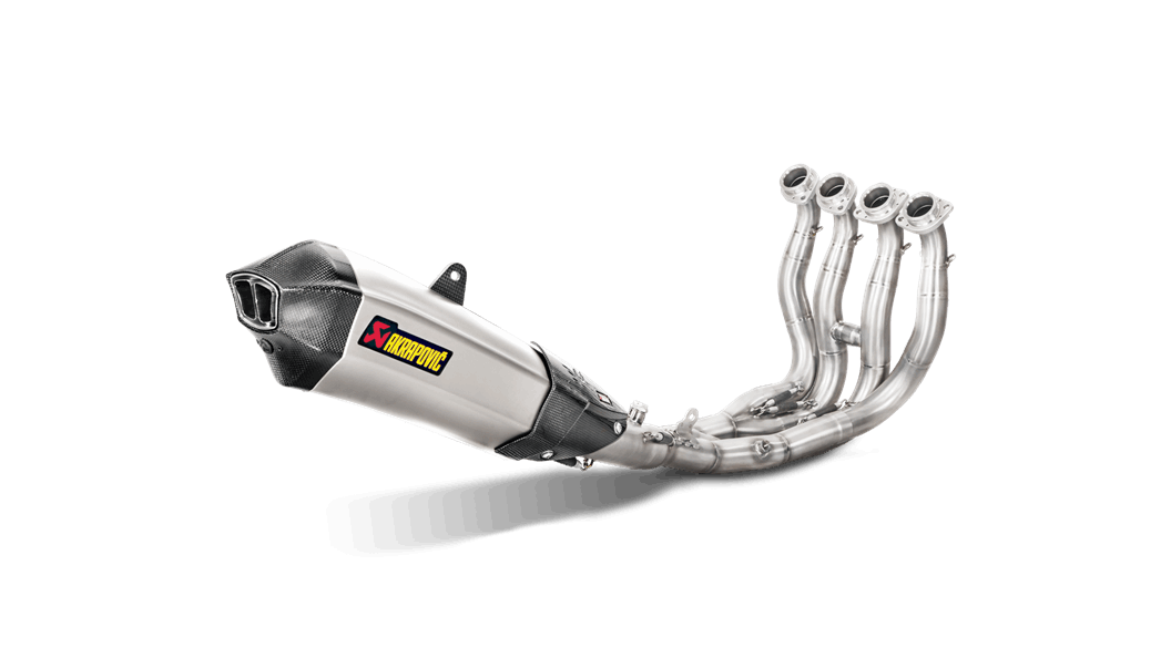 Yamaha MT-10/FZ-10 2019 Racing Line (Titanium) - Akrapovič