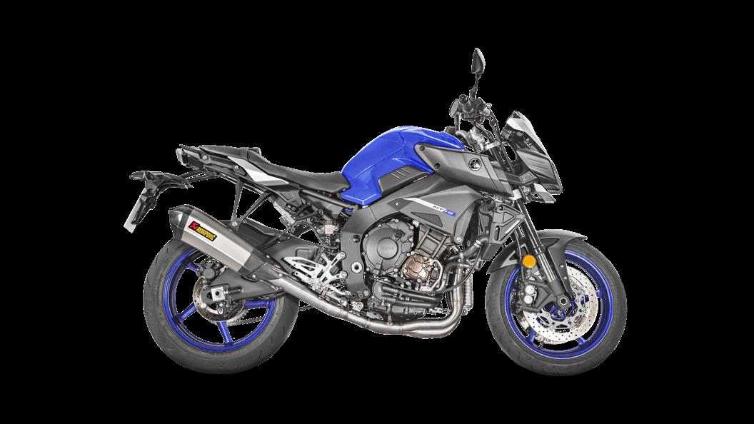 Yamaha MT-10/FZ-10 2018 Racing Line (Titanium) - Escape de