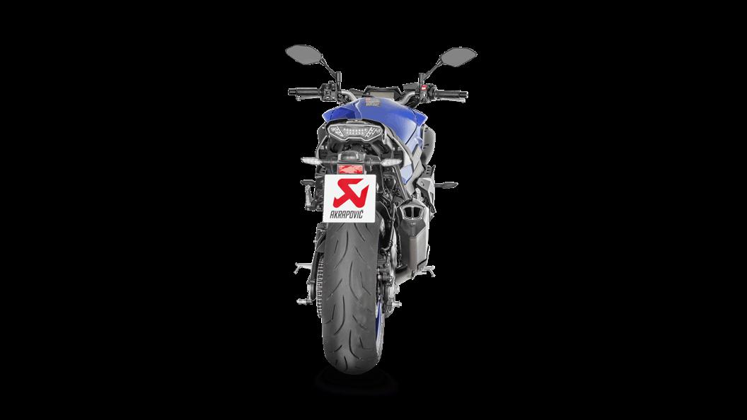 Yamaha MT-10/FZ-10 2018 Racing Line (Titanium) - Akrapovič