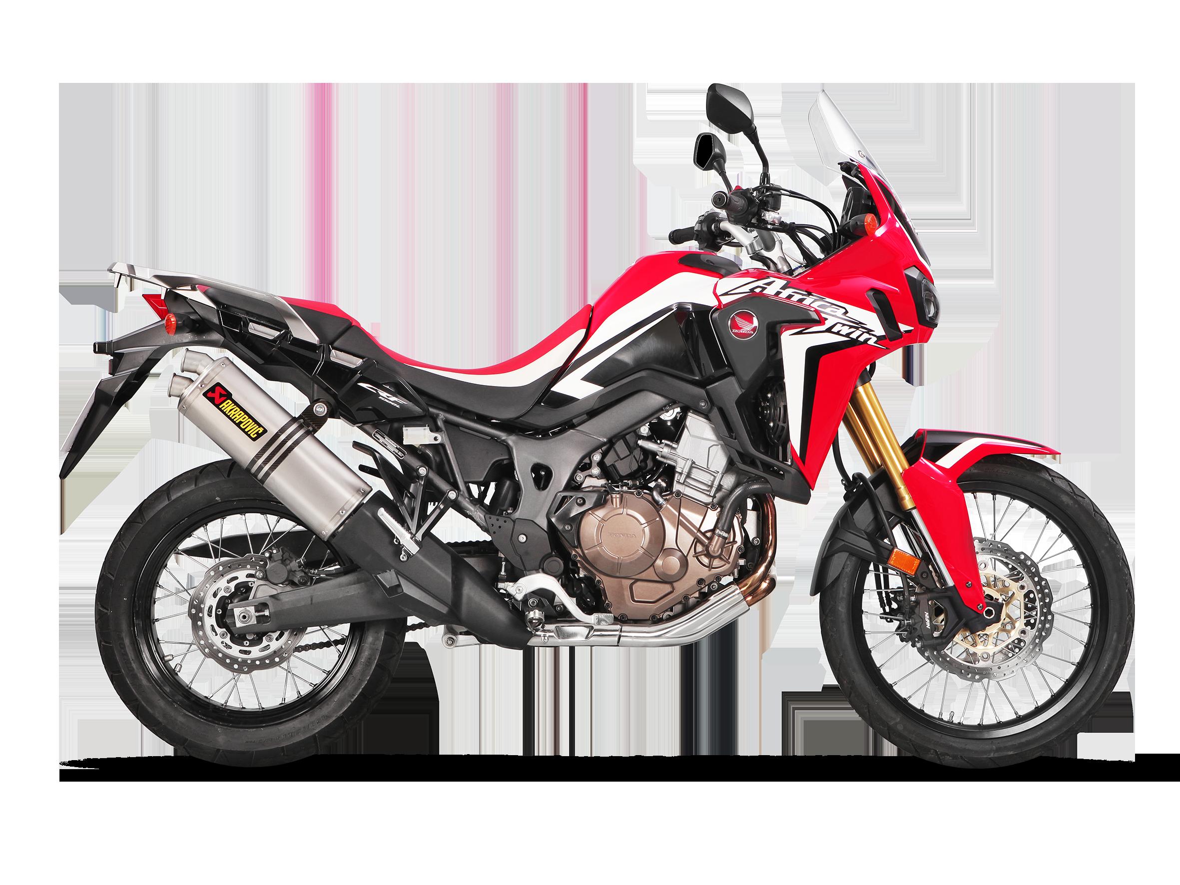 Honda Crf1000l Africa Twin Adventure Sports 2019 Slip On Line Titanium Akrapovic Motorcycle Exhaust