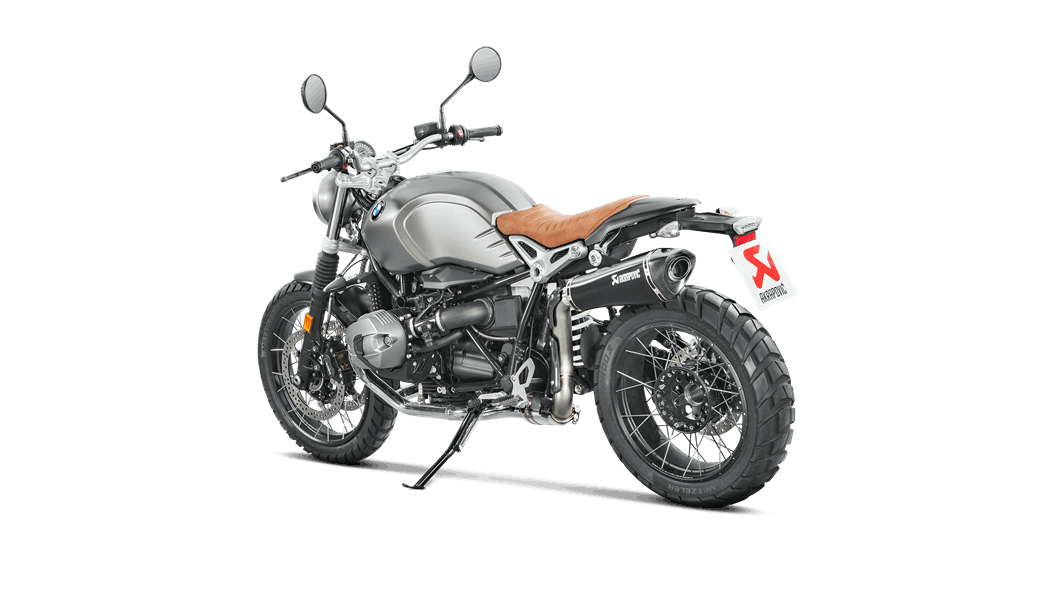 BMW R NINET 2019 Slip-On Line (Titanium) - Akrapovič Motorcycle Exhaust