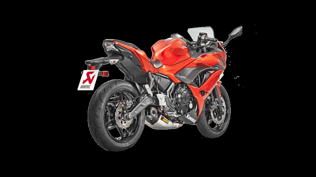 Kawasaki Ninja 650 2019 Racing Line Titanium Akrapovič