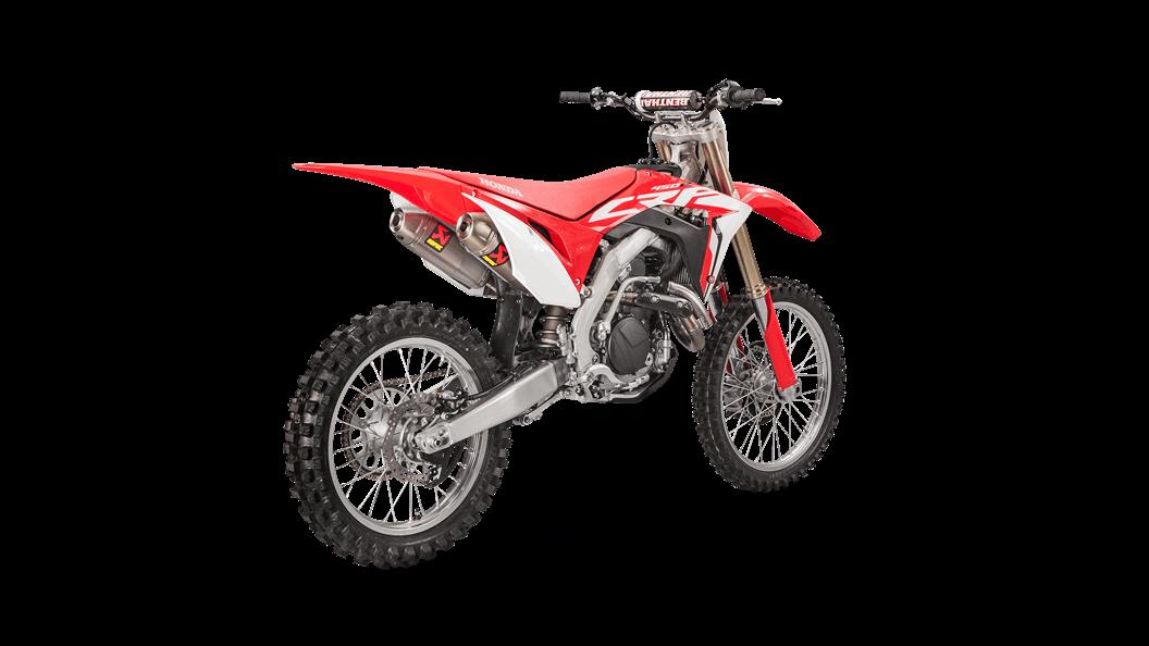 Honda CRF 450 R / RX 2019 Racing Line (Titanium) - Akrapovič