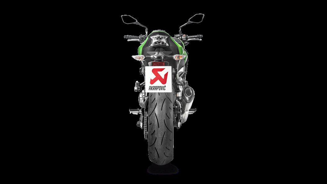 Kawasaki Z900 2019 Slip-On Line (Titanium) - Akrapovič Motorcycle