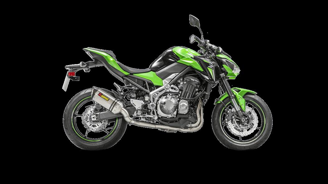 Kawasaki Z900 2017 Optional Header (SS) - Akrapovič