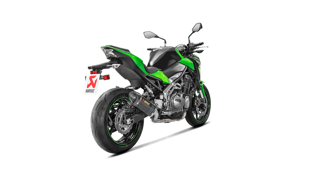 Kawasaki Z900 2018 Optional Header (SS) - Akrapovič Motorcycle Exhaust