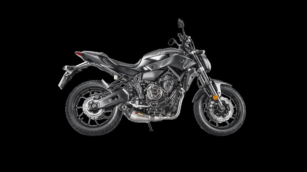 Yamaha MT-07/FZ-07 2018 Racing Line (Titanium) MT-07