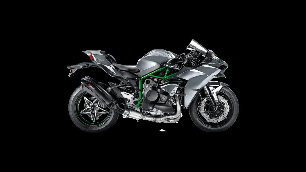 Kawasaki Ninja H2 2018 Evolution Line Carbon Akrapovič