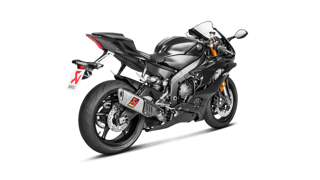 Yamaha YZF-R6 2018 Racing Line (Titanium) - Akrapovič