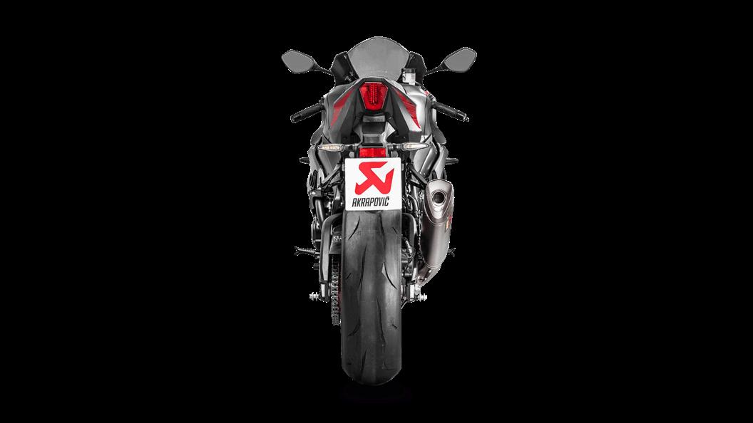 Suzuki GSX-R 1000 2018 Evolution Line (Titanium) - Akrapovič