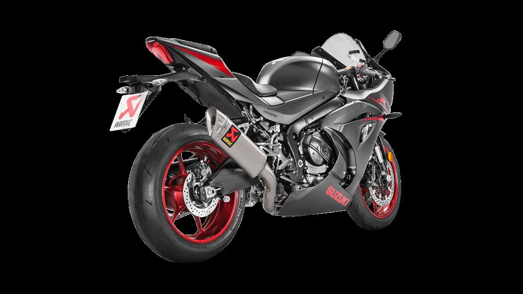 Suzuki GSX-R 1000 2018 Racing Line (Titanium) - Akrapovič