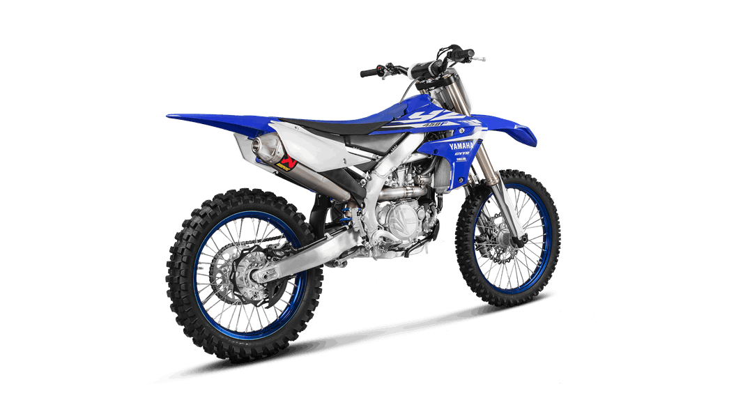 Yamaha YZ 450 F 2018 Evolution Line (Titanium) - Akrapovič