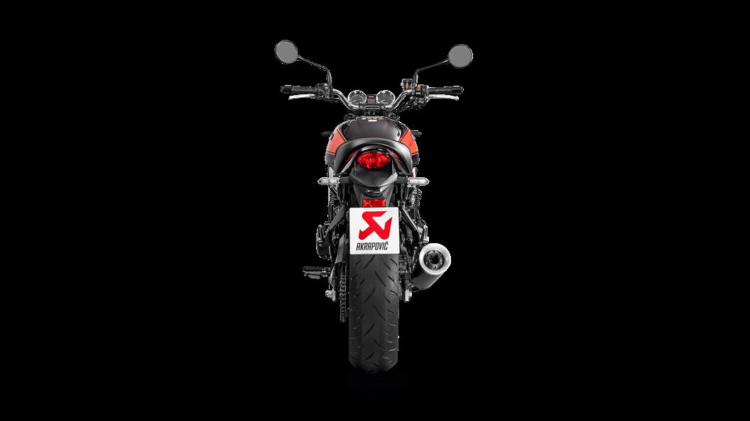 Kawasaki Z900 RS / Cafe 2018 Slip-On Line (Titanium) - Akrapovič