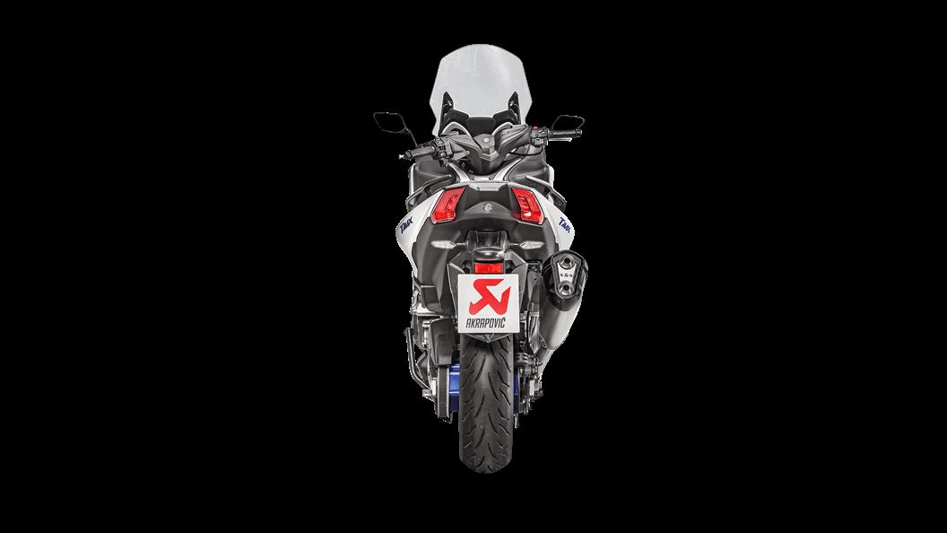 Yamaha Tmax 2018 Racing Line Titanium Akrapovič Motorcycle Exhaust