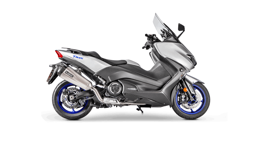 Yamaha Tmax 2019 Racing Line Titanium Akrapovič Motorrad Auspuffanlagen