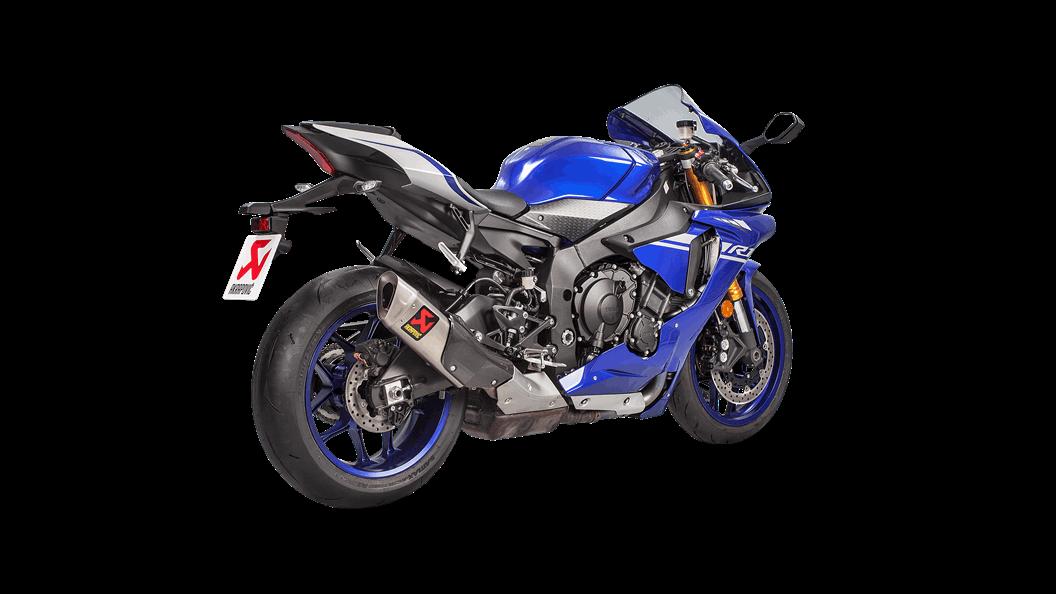 Yamaha Yzf R1 2018 Slip On Line Titanium Akrapovic Motorcycle
