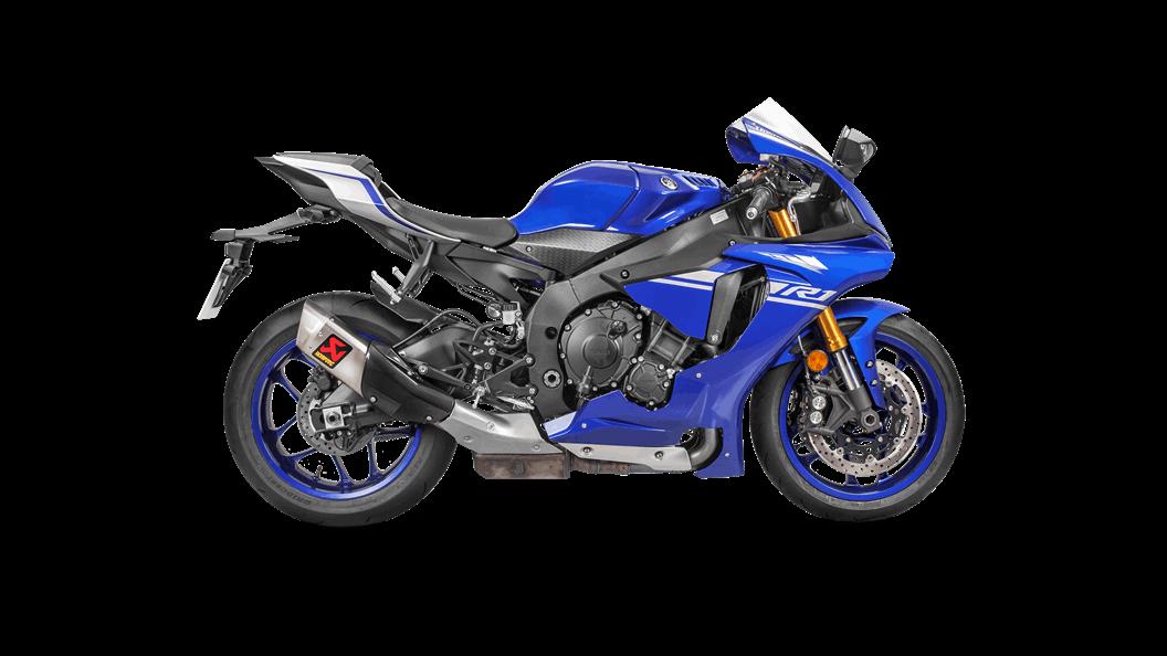 Yamaha YZF-R1 2019 Slip-On Line (anium) - Akrapovič ... on