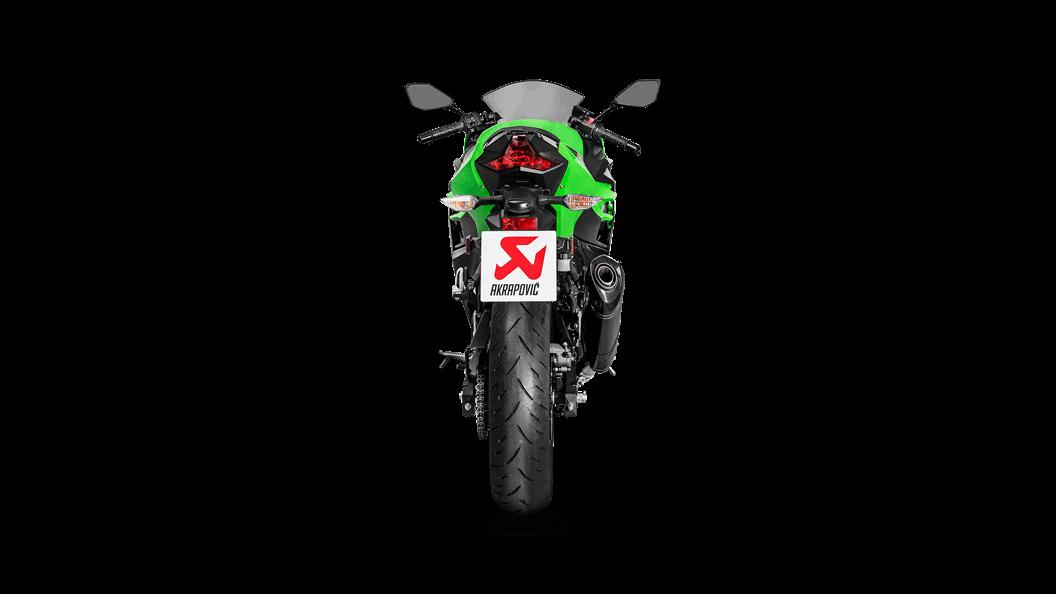 Kawasaki Ninja 400 2019 Slip-On Line (Carbon) - Akrapovič