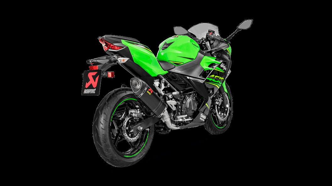 Kawasaki Ninja 400 2018 Optional Header Ss Akrapovič Motorcycle