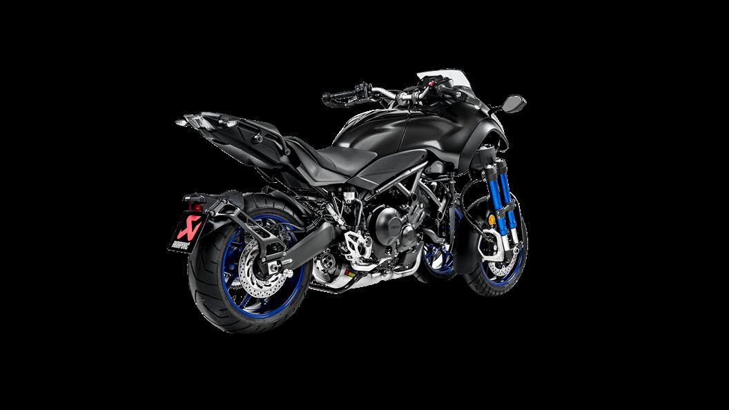 Yamaha Niken 2019 Racing Line Titanium Akrapovič Motorcycle Exhaust