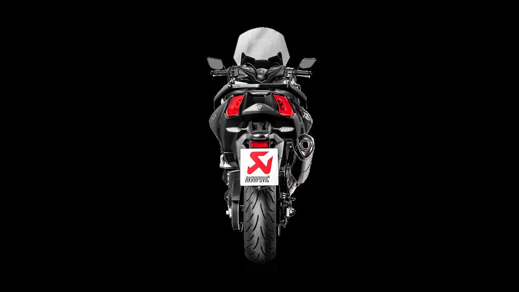 Yamaha Tmax 2019 Racing Line Carbon Akrapovič Motorcycle Exhaust