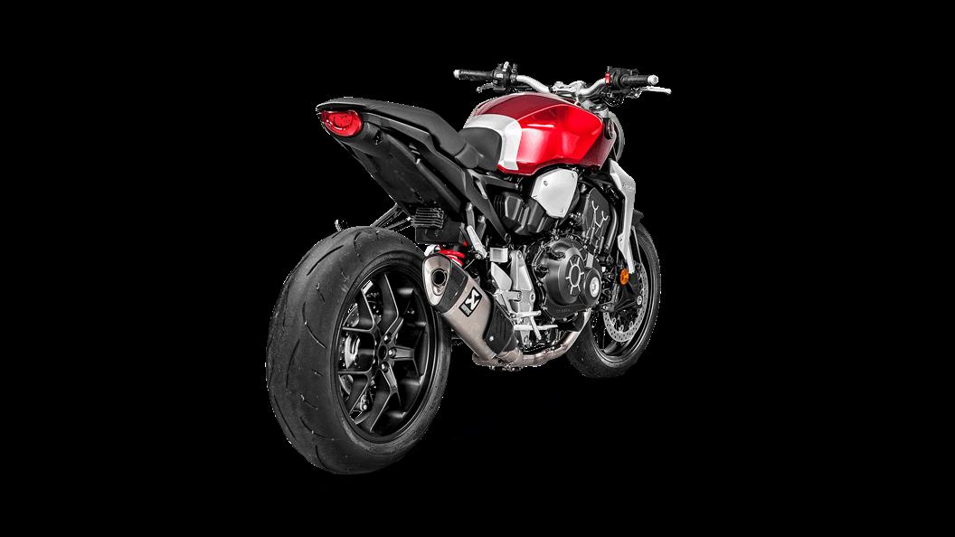 Honda Cb 1000 R 2018 Optional Header Ss Akrapovič Motorcycle Exhaust