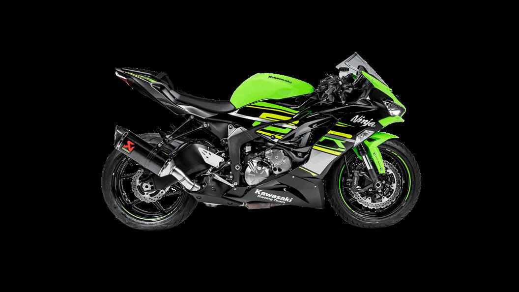 Kawasaki Ninja ZX-6R 636 2019 Slip-On Line (Carbon