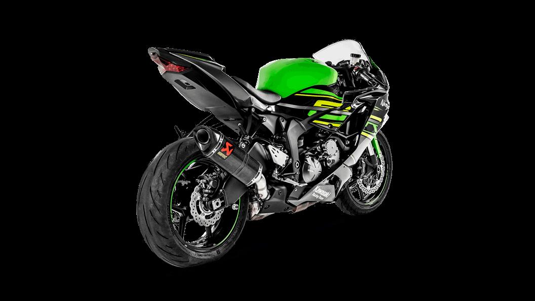Kawasaki Ninja Zx 6r 636 2019 Slip On Line Carbon Akrapovič