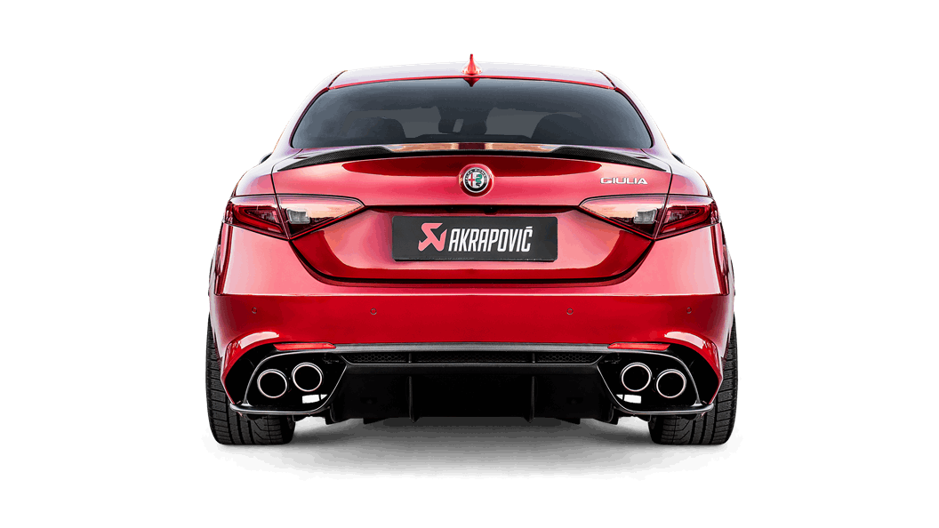 Alfa Romeo Giulia Quadrifoglio >> Alfa Romeo Giulia Quadrifoglio 2019 Evolution Line Titanium