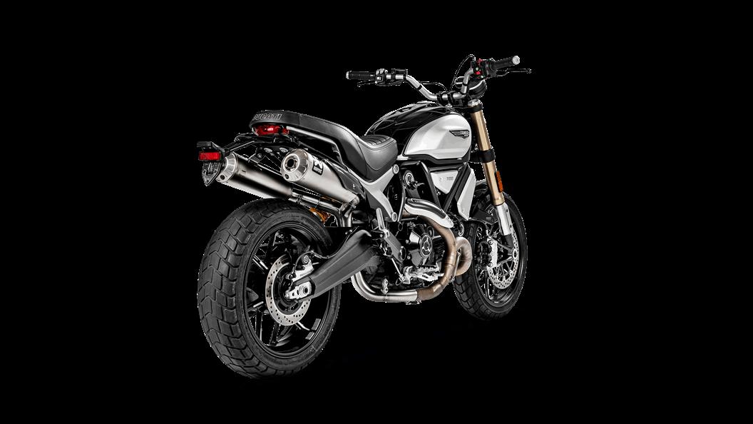Ducati Scrambler 1100 2019 Optional Link Pipe Ss Akrapovič