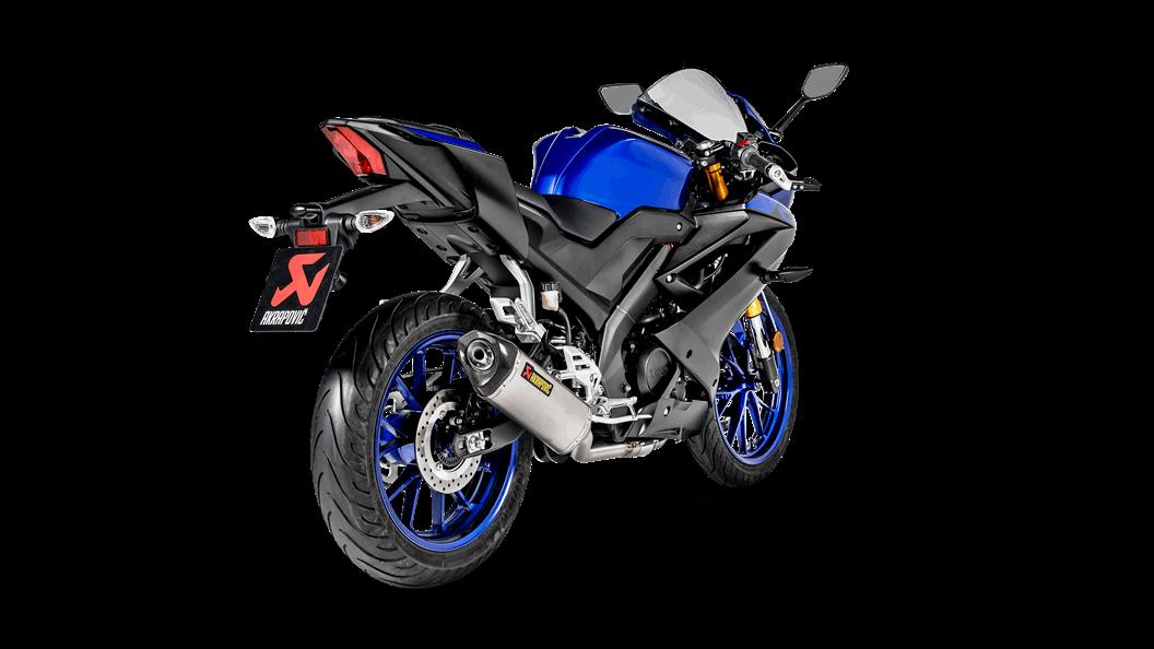 Yamaha YZF-R15 2019 Racing Line (Titanium) - Akrapovič