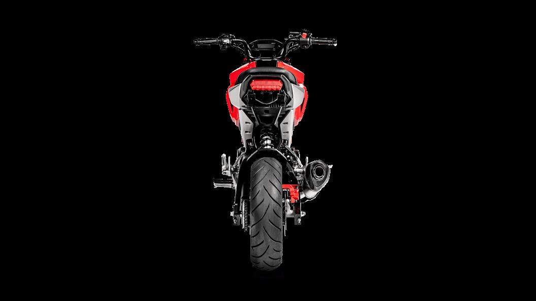 Honda MSX 125 / Grom 2019 Racing Line (Titanium) - Akrapovič