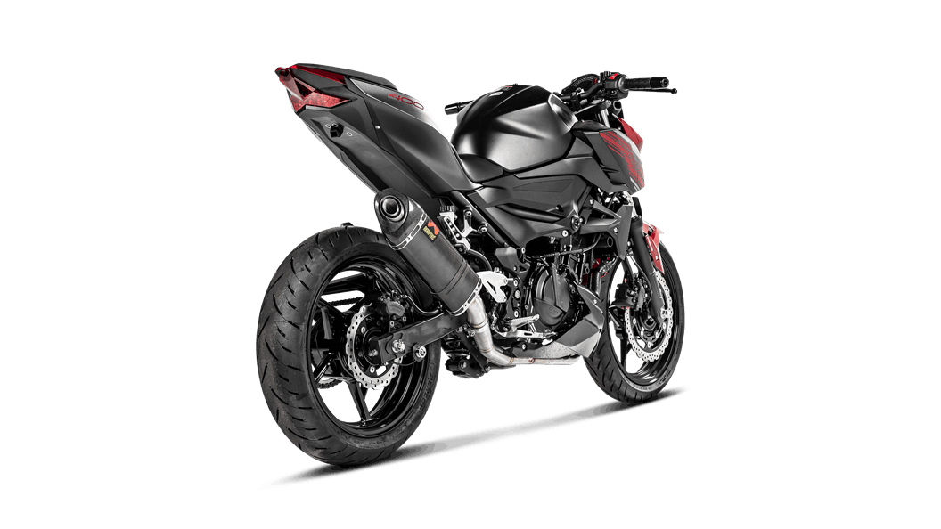Kawasaki Z400 2019 Optional Header (SS) - Escape de