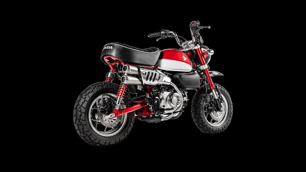 Honda Monkey 2019 Slip On Line Titanium Akrapovic Motorcycle Exhaust