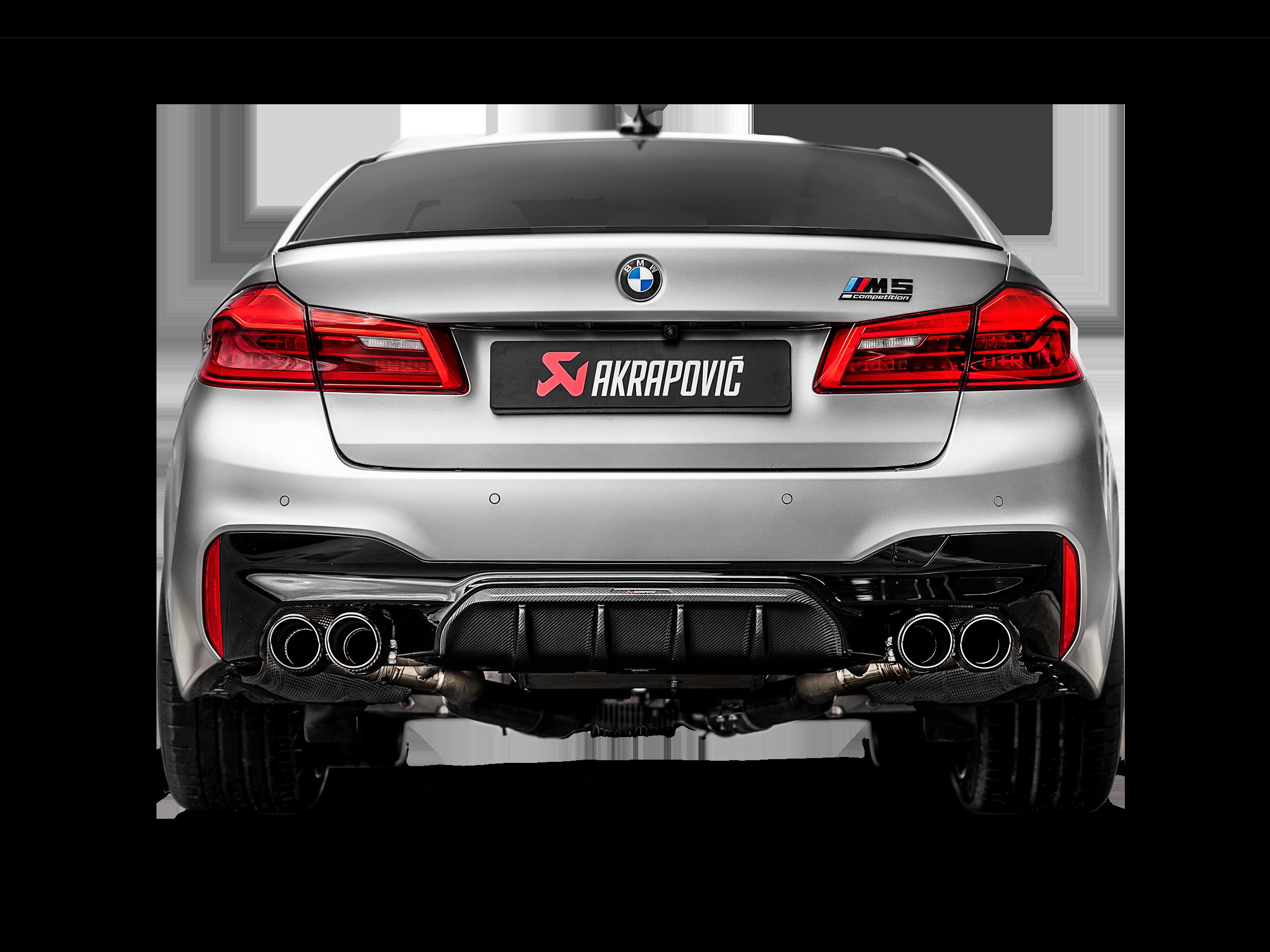 Bmw M5 M5 Competition F90 Opf Gpf 2019 Slip On Line Titanium Akrapovic Car Exhaust