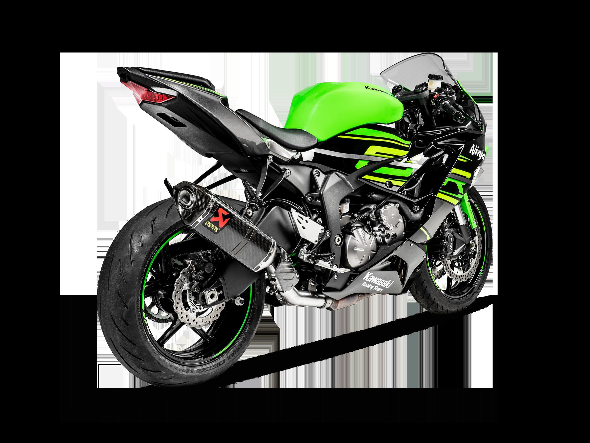 Kawasaki Ninja Zx 6r 636 2020 Optional Link Pipe Ss Akrapovic Motorcycle Exhaust