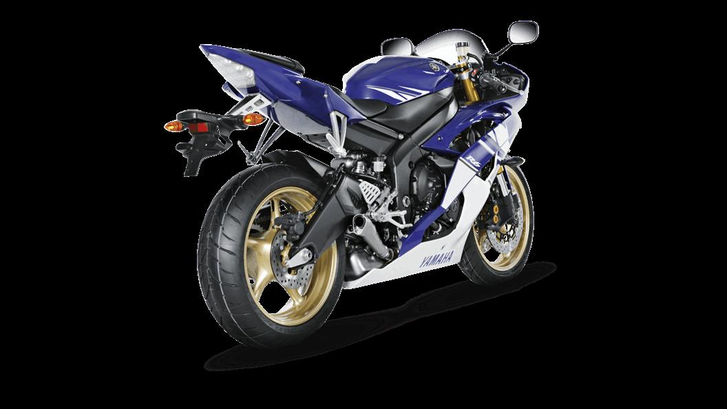 Yamaha YZF-R6 2014 Slip-On Line (Titanium) - Akrapovič Motorcycle