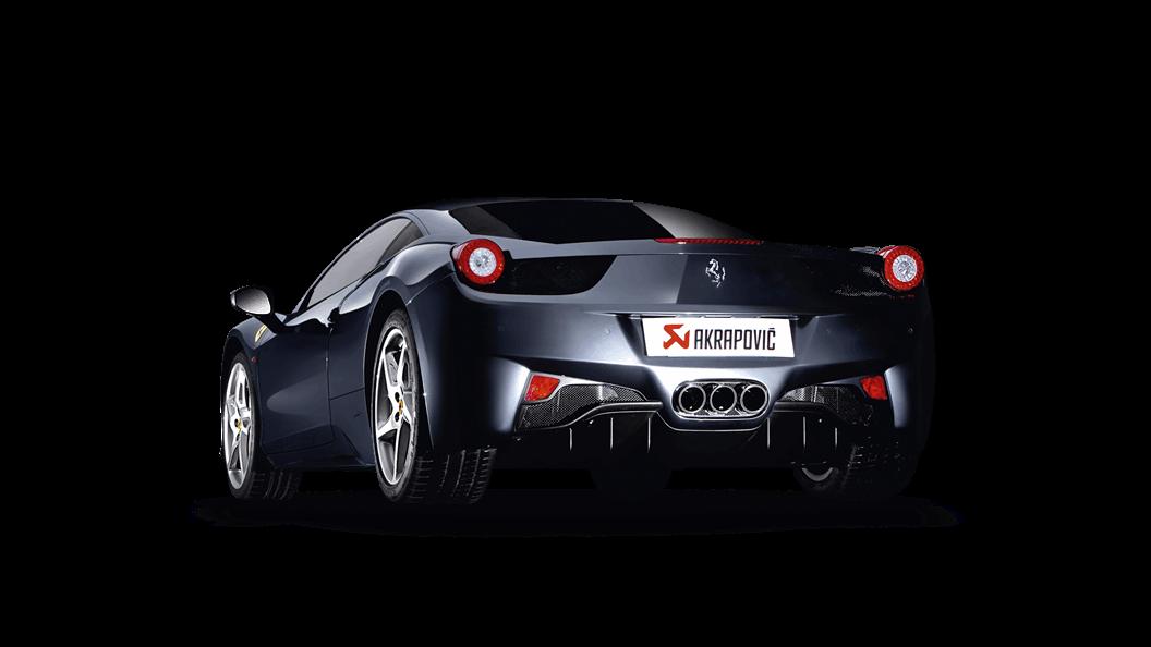 Ferrari 458 Italia 458 Spider 2015 Slip On Line Titan Akrapovič Automobil Auspuff